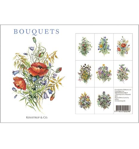 BOUQUETS - 8 cards (German)