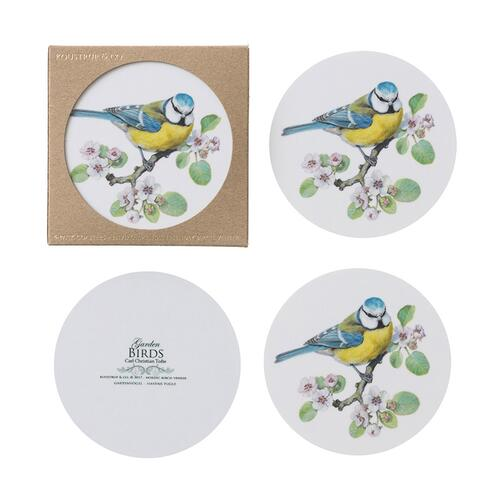 COASTERS - Blue tit - 4 pack