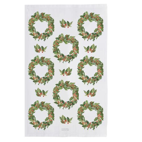 ORGANIC TEA TOWEL - Holly