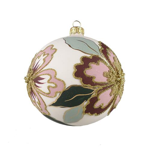 CHRISTMAS ORNAMENT - Pink / burgundy
