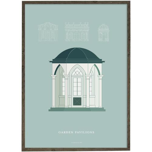 Art print - Garden pavilion - CHOOSE SIZE