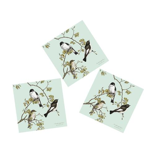 NAPKINS - PIED FLYCATCHER - 20 PCS IN A PACKAGE