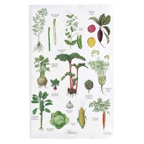 ORGANIC TEA TOWEL - KITCHENGARDEN