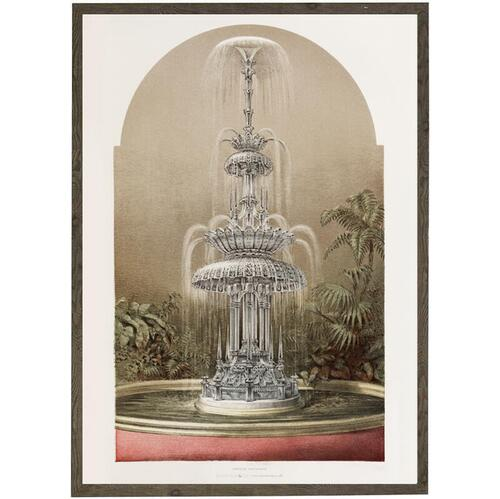ART PRINT - Crystal fountain - CHOOSE SIZE
