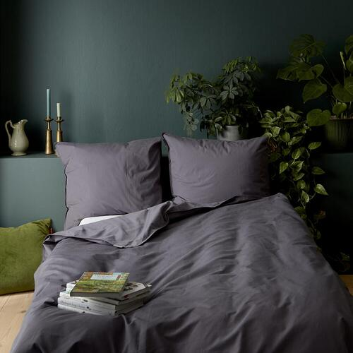 Organic bedlinen set - Dark Grey