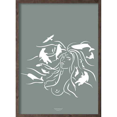 Mother of the sea (arctic leaf) - ART PRINT - CHOOSE SIZE