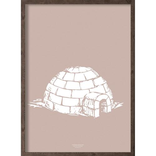 Iglo (arctic girl) - ART PRINT - CHOOSE SIZE
