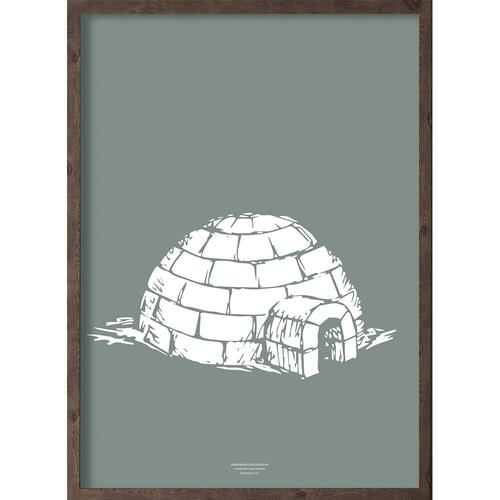 Iglo (arctic leaf) - ART PRINT - CHOOSE SIZE