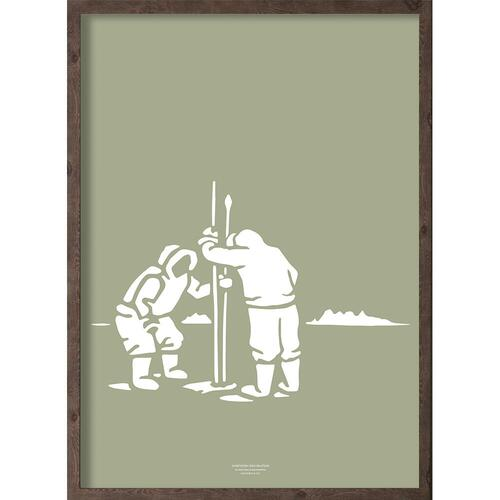 Inuit (arctic dry moss) - ART PRINT - CHOOSE SIZE