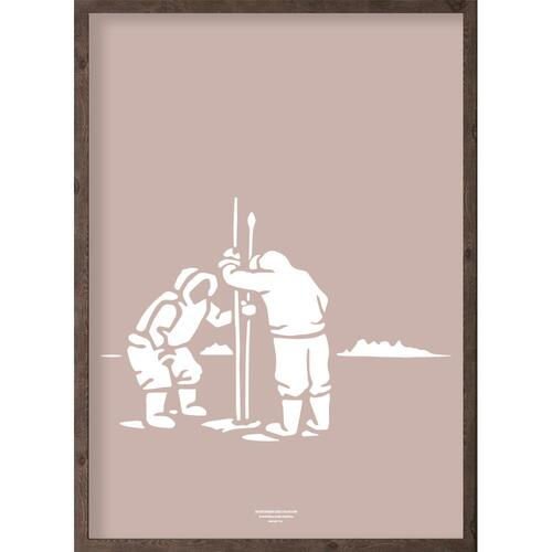 Inuit (arctic girl) - ART PRINT - CHOOSE SIZE