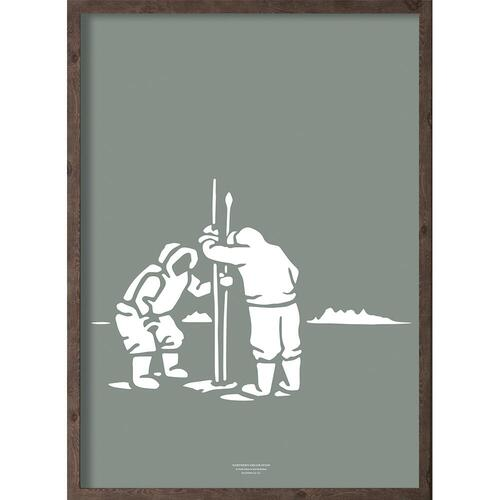 Inuit fangere (arctic leaf) - ART PRINT - CHOOSE SIZE