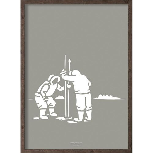 Inuit fangere (arctic granite) - ART PRINT - CHOOSE SIZE