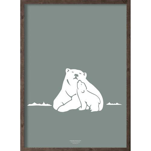 Nanoq (arctic leaf) - ART PRINT - CHOOSE SIZE
