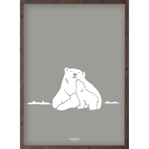 Nanoq (arctic light granite) - ART PRINT - CHOOSE SIZE