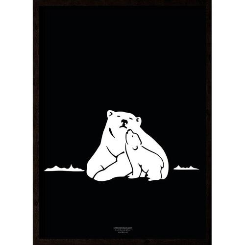Nanoq (black-white) - ART PRINT - CHOOSE SIZE