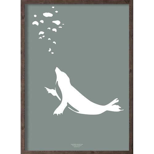 Puisi (arctic leaf) - ART PRINT - CHOOSE SIZE
