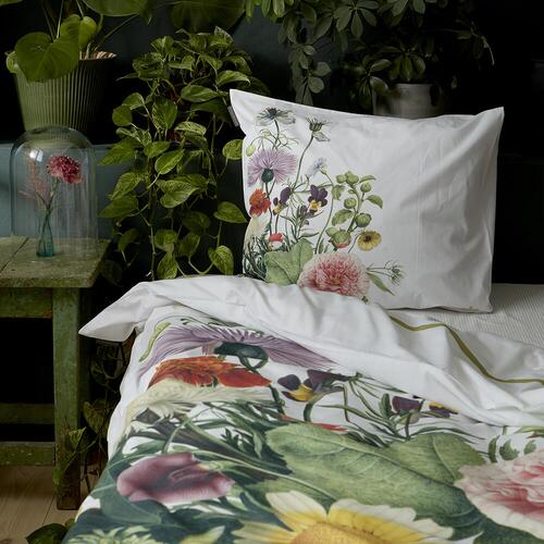 Organic bedlinen set - Flower garden 140x200 cm - on stock mid/end March