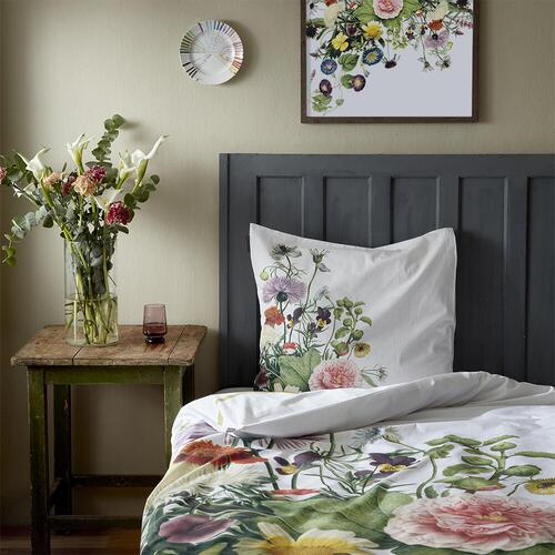Organic bedlinen set - Flower garden 140x220 cm - on stock mid/end March