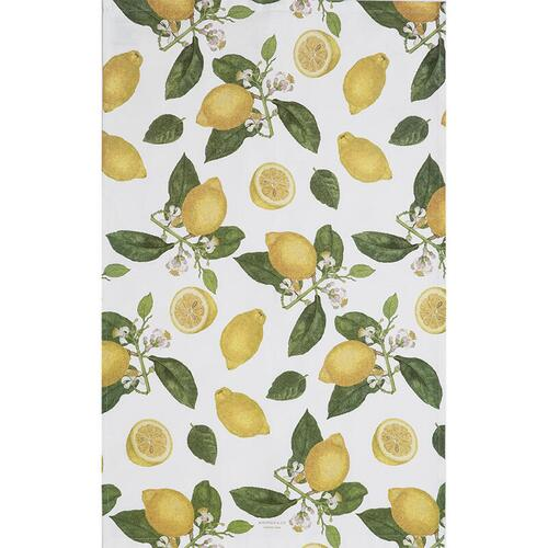ORGANIC TEA TOWEL - Lemon - PRE-ORDER