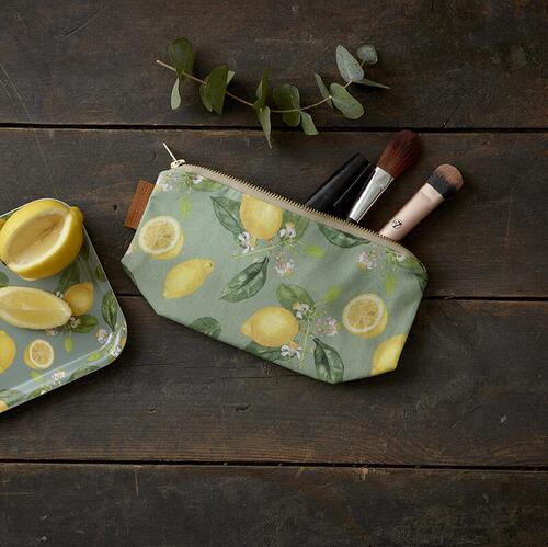 COSMETIC BAG - Lemon - Pre order