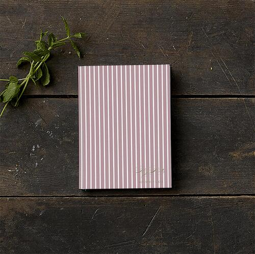 SKETCH BOOK - Stripes cherry (little) - Pre order