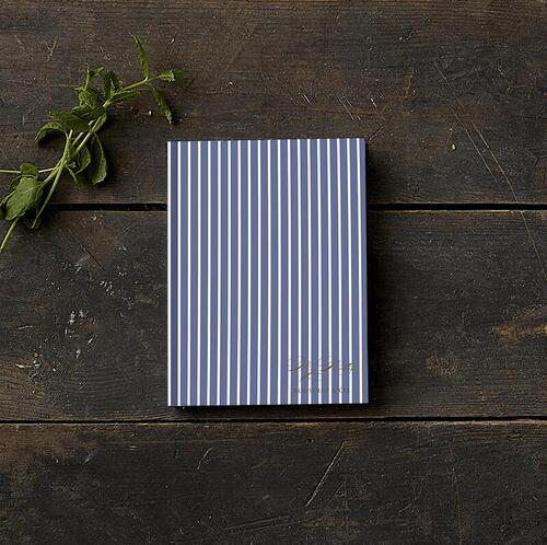 SKETCH BOOK - Stripes blue (little) - Pre order