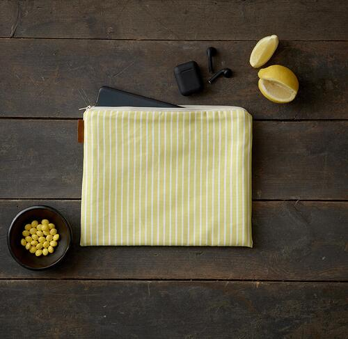 iPad cover - Stripe yellow - Pre order