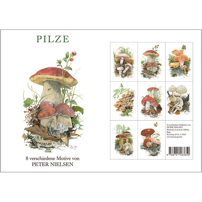 PILZE - 8 cards (german)