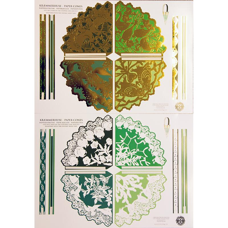 PAPER DECORATION - GREEN - OUT OF STOCK