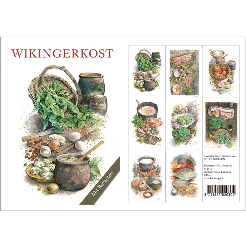 WIKINGERKOST - 8 cards (german)
