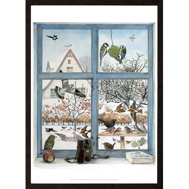 FRAME 50x70 with passepartout - BLACK