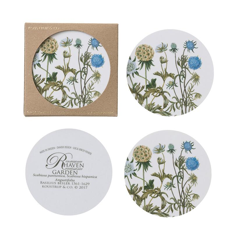 COASTERS - Scabiosa - 4 pack