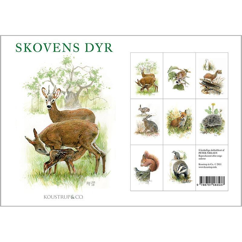 FOREST ANIMALS - 8 cards