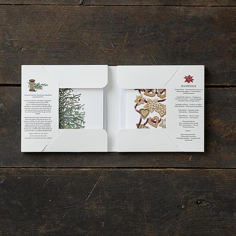 CHRISTMAS HYGGE - Square card folder