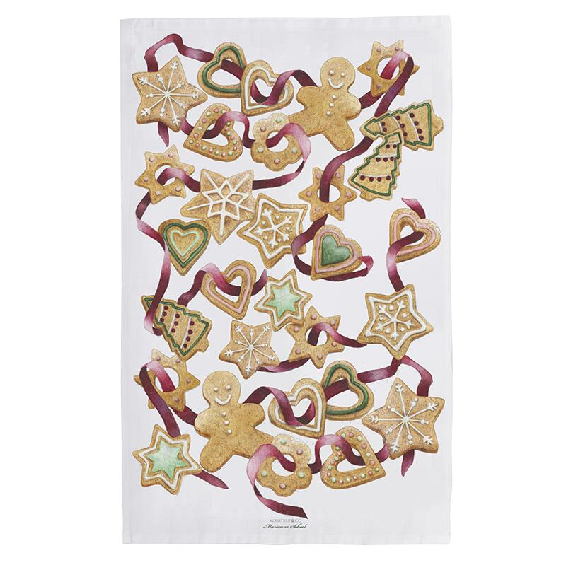 ORGANIC TEA TOWEL - Gingerbread