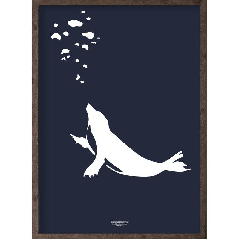 Puisi (arctic dark blue) - ART PRINT - CHOOSE SIZE