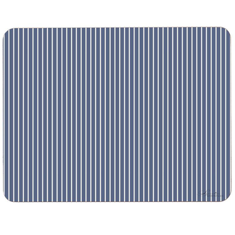 PLACEMAT - Stripes (blue/green)
