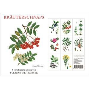 KRÂUTERSCHNAPS - 8 cards (german)