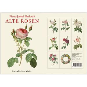 ALTE ROSEN - 8 cards (German)