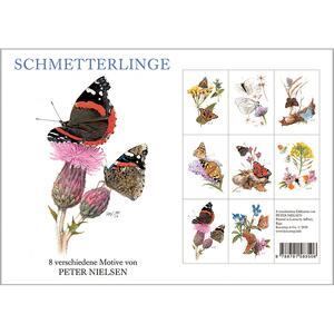 SCHMETTERLINGE - 8 cards (german)