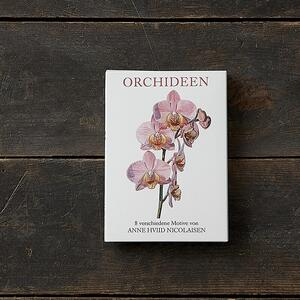 ORCHIDEEN - 8 cards (german)