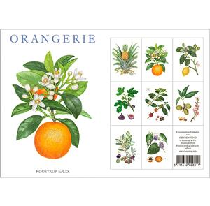 ORANGERIE - 8 cards (german)