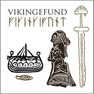 VIKING FINDS - Square card folder