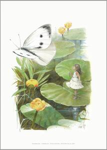 ART PRINT A4 - Thumbelina - ONLY 6 LEFT IN STOCK
