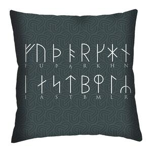 CUSHION - Runic alphabet