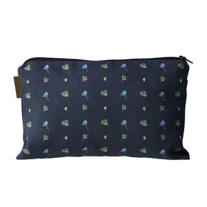 COSMETIC BAG - Blue Anemone pattern - CURRENTLY OUT OF STOCK