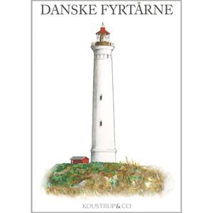 DANISH LIGHTHOUSES - 8 cards