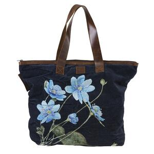 SHOPPING BAG - Blue anemone