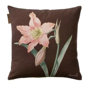 CUSHION COVER - Amaryllis rosa/bordeaux