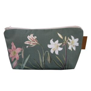 COSMETIC BAG - Amaryllis (with bottom)